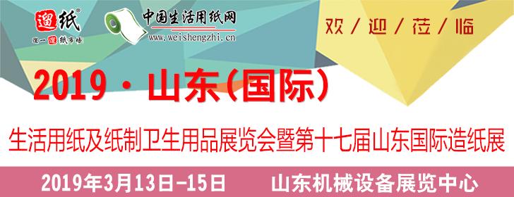 2019 山东(国际)生活用纸及纸制卫生用品展览会